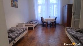 Nosso apartamento no Cracóvia, Polônia.