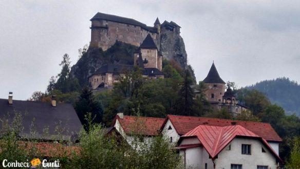 Castelo de Orava. Eslováquia.