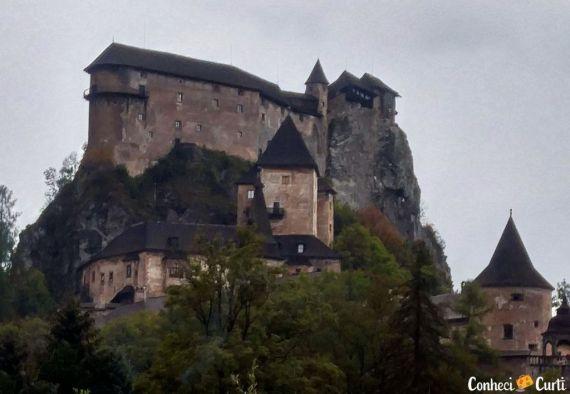 O espetacular Castelo de Orava na Eslováquia