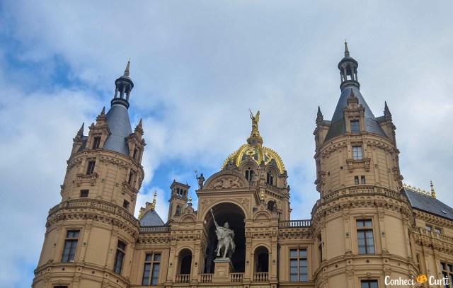 Cúpula do castelo de Schwerin