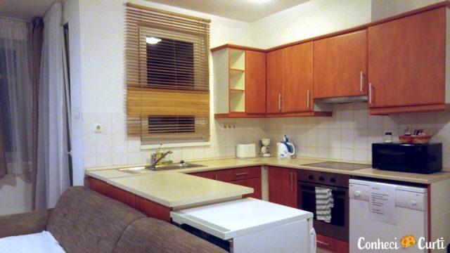 Nosso apartamento em Budapeste