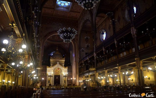 A Grande Sinagoga em Budapeste.