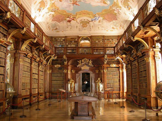 Biblioteca da Abadia de Melk, Áustria