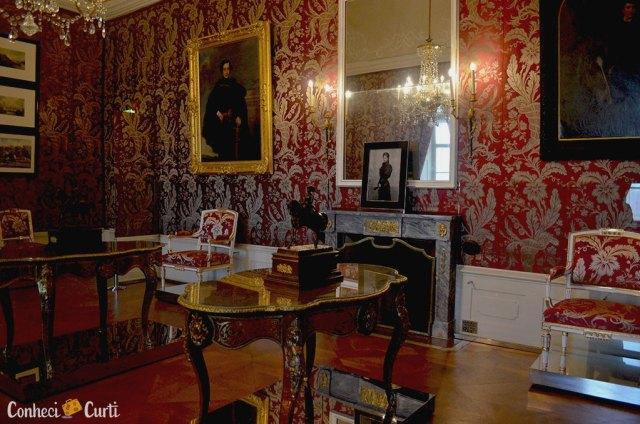 Palácio Esterházy - apartamento da princesa