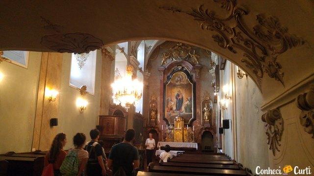 Palácio Esterházy - capela