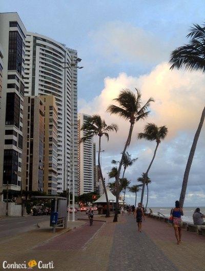 Recife, praia de Boa Viagem