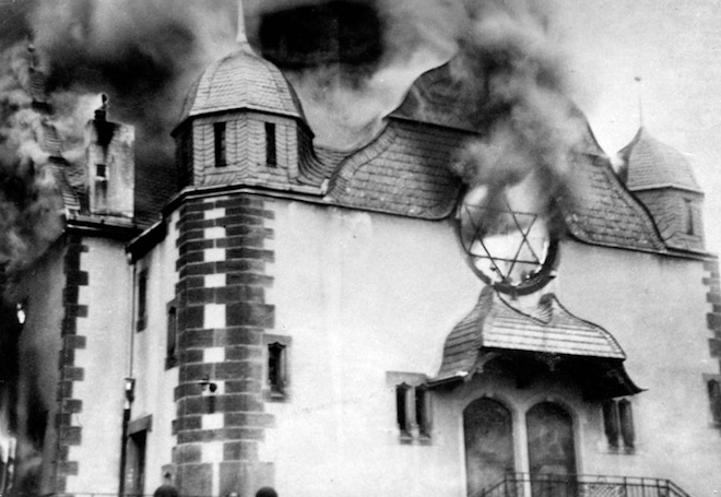 Image result for Kristallnacht, the Night of Broken Glass