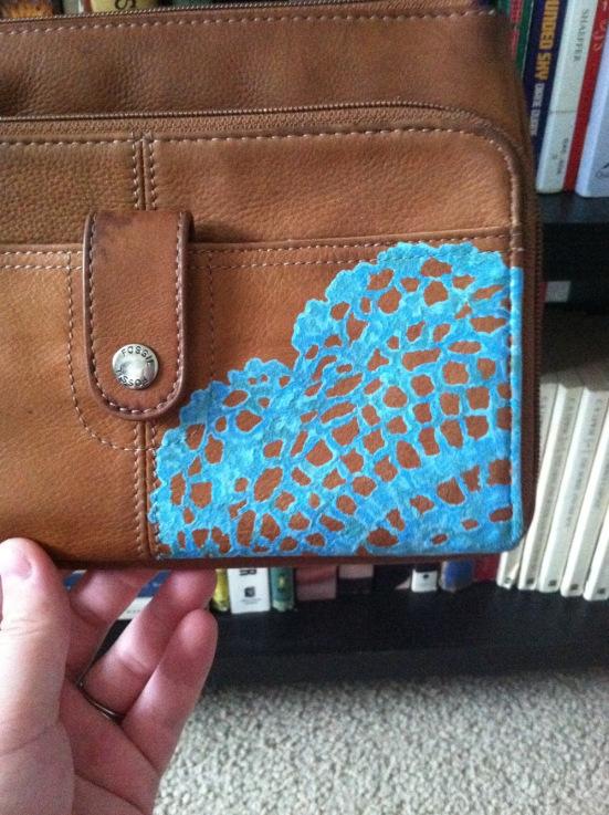 Idea para decorar bolsos y carteras  Blog material para