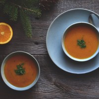 citrusy split pigeon pea soup