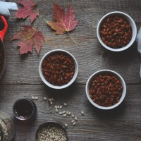vegan baked beans (fèves au lard)