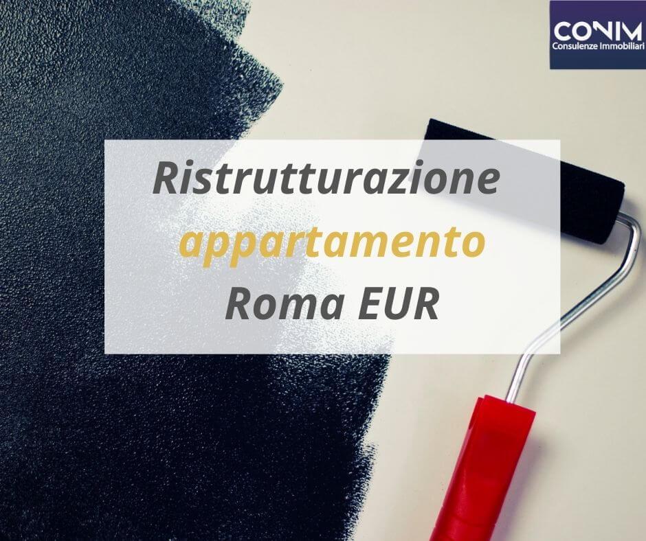 Ristrutturazione Appartamento Roma Eur