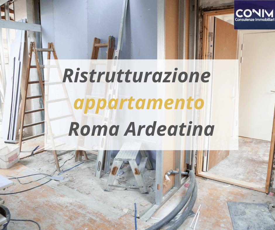 Ristrutturazione appartamento Roma Ardeatina