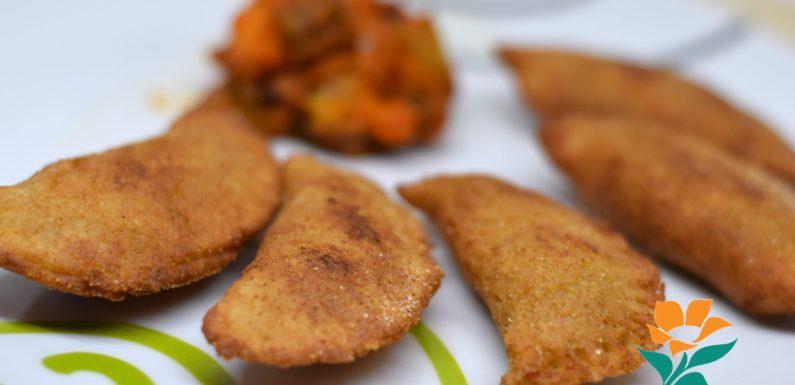 Empanadillas de pisto sin gluten, sin huevo y sin lácteos