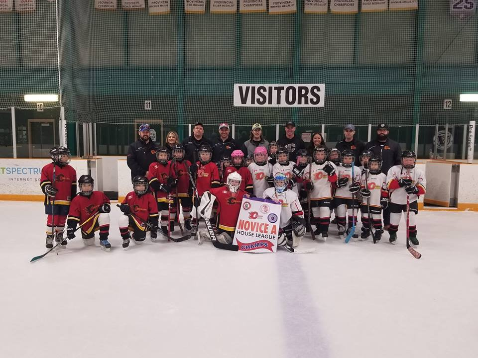 Novice Flames Playoff Champions
