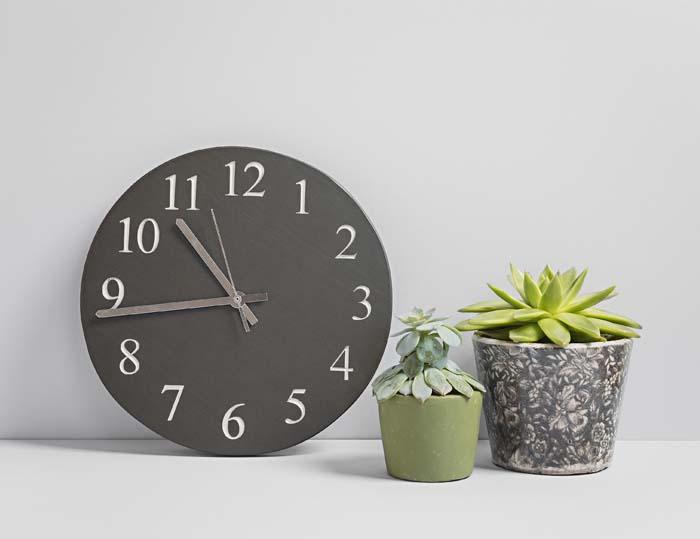 kitchen clocks door handles large slate clock coniston stonecrafts