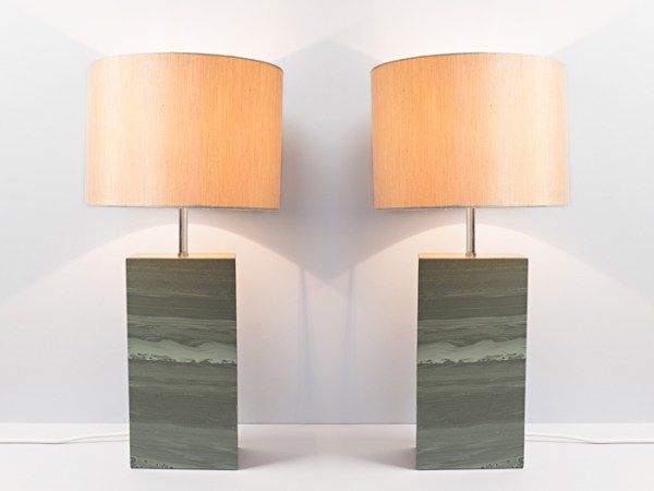 Slate Lamps