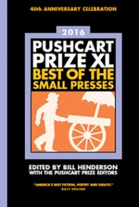 Pushcart Cover 2016