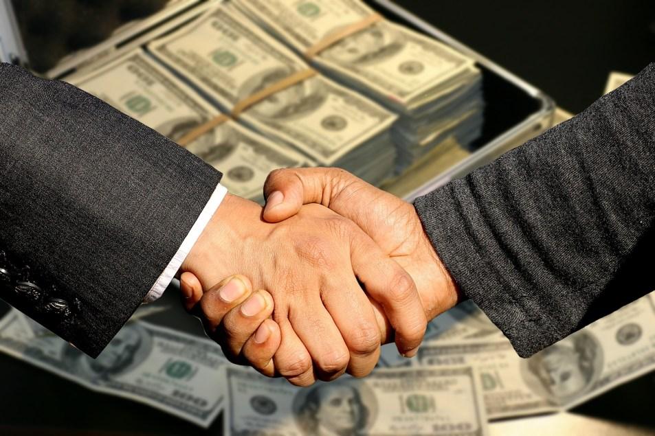 ビジネスの契約締結