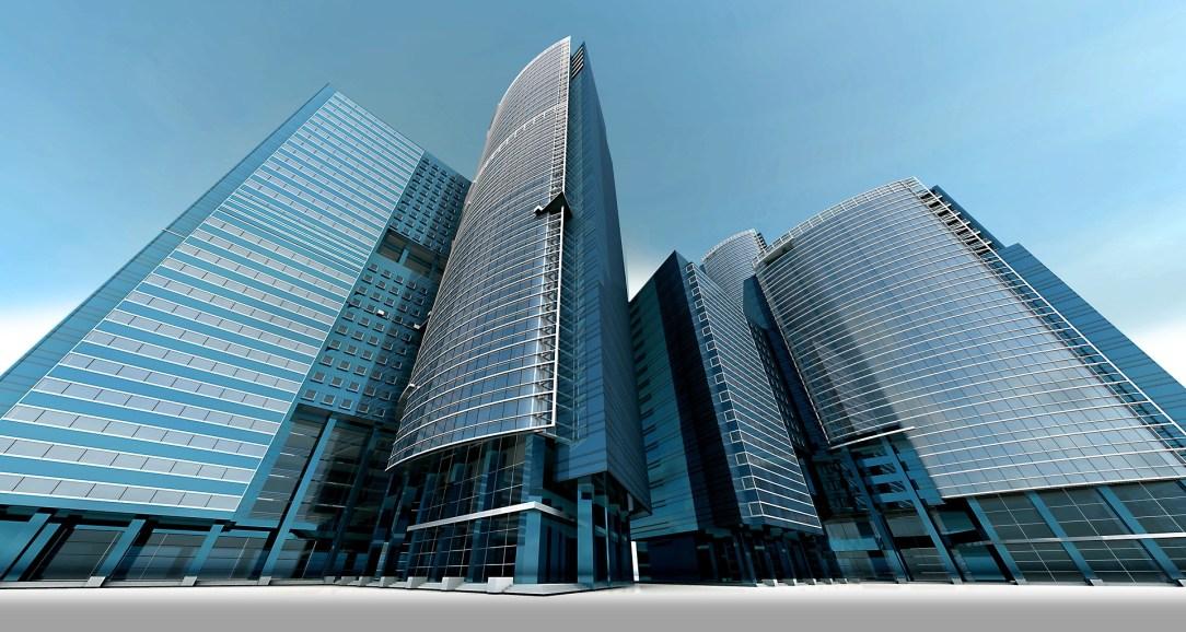 オフィス街の風景