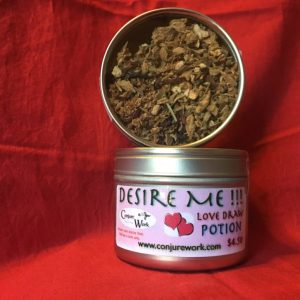 Desire Me! Love Drawing Potion, in Potions, Conjure Shop, conjurework.com herbal teas