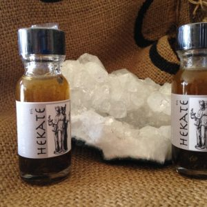 Hekate Oil; Queen of all Witches; Titan, made by Magus at Conjure Work, sorcery supplies and services
