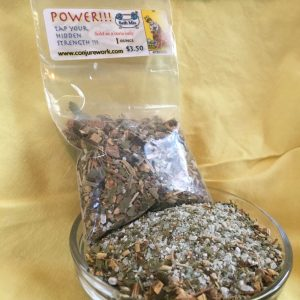 POWER Bath Mix at Conjure Work, sorcery supplies and services by Magus (Kevin Trent Boswell)
