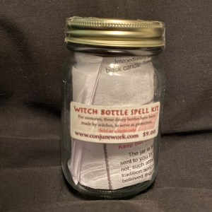 Witch Bottle Spell Kit, protection witchcraft at Conjure Work