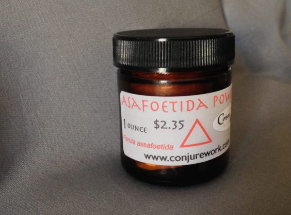 Asafoetida Powder at Conjure Work, witchcraft and Ceremonial Magick supplies by Kevin Trent Boswell