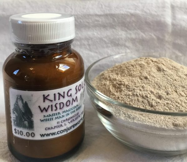 King Solomon Wisdom Powder at conjurework.com by Magus (Kevin Trent Boswell)