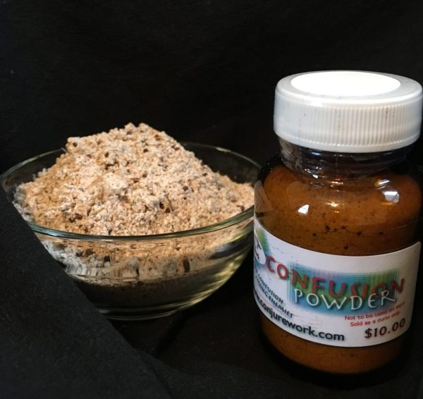 Confusion Powder at Conjure Work, witchcraft and Hoodoo products by Magus (Kevin Trent Boswell)
