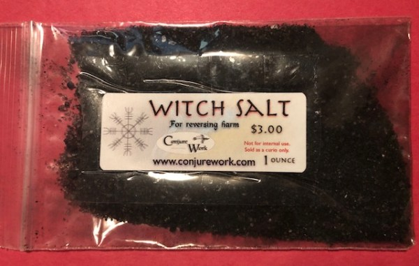 Witch Salt for reversing harm, curses, jinxes; at Conjure Work