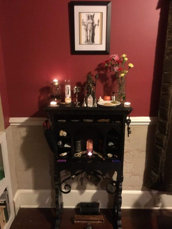 Hekate altar, Conjure Work
