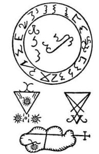 Grimorium Verum sigils; The True Grimoire