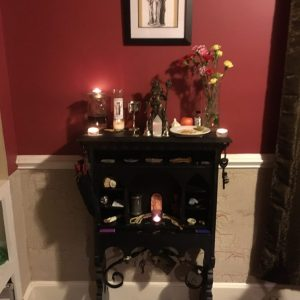 Hekate altar, Photos in a closer look at Conjure Work