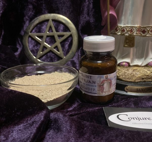 Saint Cyprian of Antioch Powder, Conjure Work, sorcery supplies
