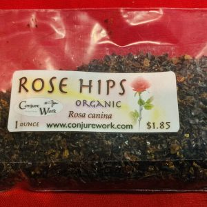 Rose Hips, Rosa canina; Ceremonial Magick, Golden Dawn, Solomonic, High Magick, witchcraft, Wicca