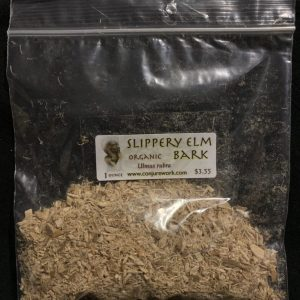 Slippery Elm Bark, Ulmas rubra, stop gossip spells; stomach upset curative, Conjure Work