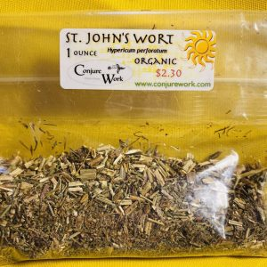 St. John's Wort, Hypericum perforatum, Saint, sorcery, Conjure Work, herbs, magick, Golden Dawn, Solomonic, Wicca, astrology