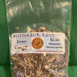 Butterbur Root, Petasites hybridus, sorcery, Conjure Work, herbs, magick, Golden Dawn, Solomonic, Wicca, astrology