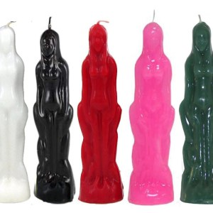 candles, female, various, 1, conjurework.com candles for spells, sorcery, Wicca, Hoodoo, magick, witchcraft