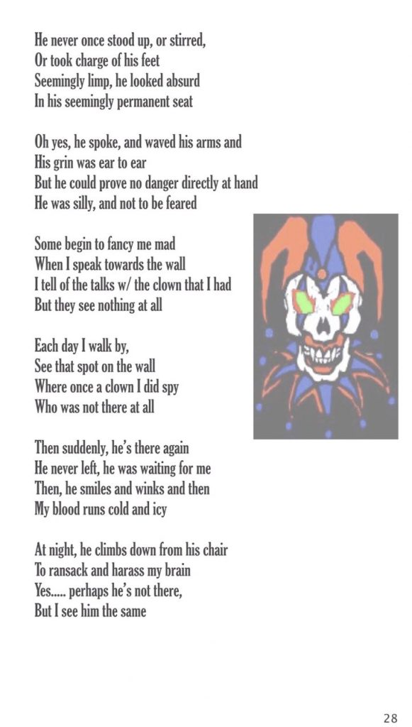 """from """"Dark Matter"""", The Poetry of Magus (Kevin Trent Boswell), owner of Conjure Work, singer, guitarist of Magus & The Plastic Infinity"""