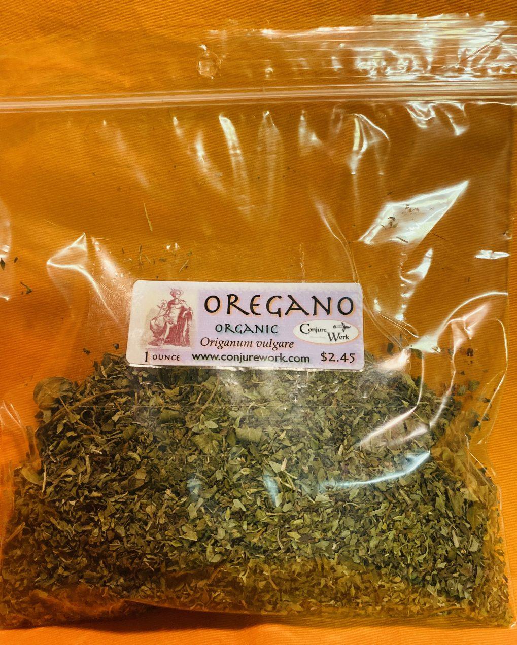 Oregano, Origanum vulgare, herbs for witchcraft, sorcery, Hoodoo spells