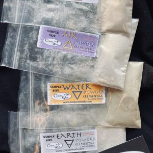 Conjure Work Elemental Powders Sampler pack, 4, sample size packets of Elemental Powder!