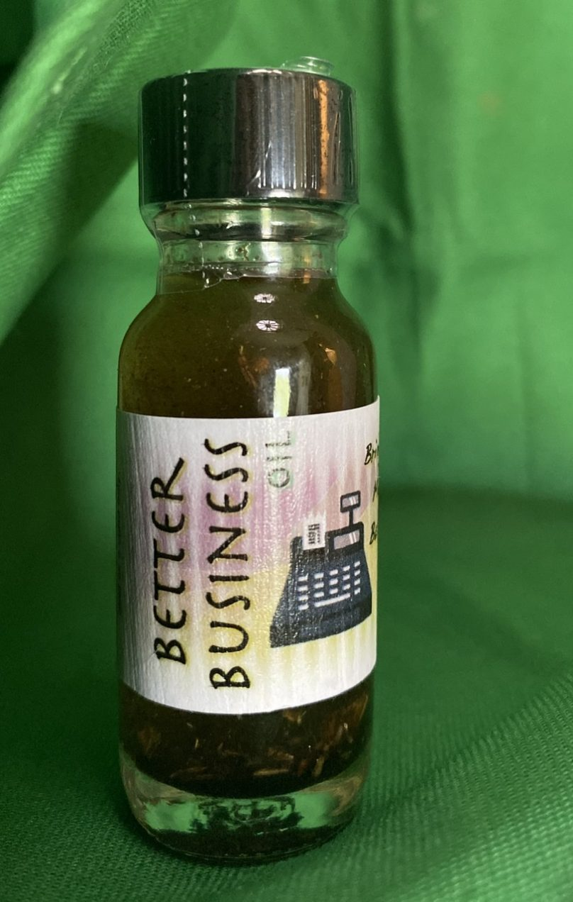 Better Business Oil - grow your business the witchy way
