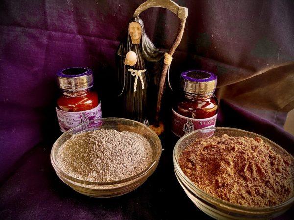 La Santisima Muerte, Black - Incense and Powder