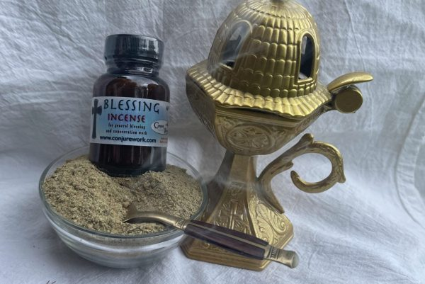 Blessing Incense - for general good fortune, tool consecration; Hoodoo, sorcery, Witchcraft, Ceremonial Magick supplies