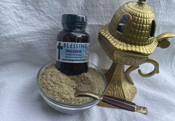 Blessing Incense - for general good fortune, tool consecration; Hoodoo, sorcery, Witchcraft