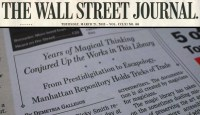Conjuring Arts Featured in the Wall Street Journal