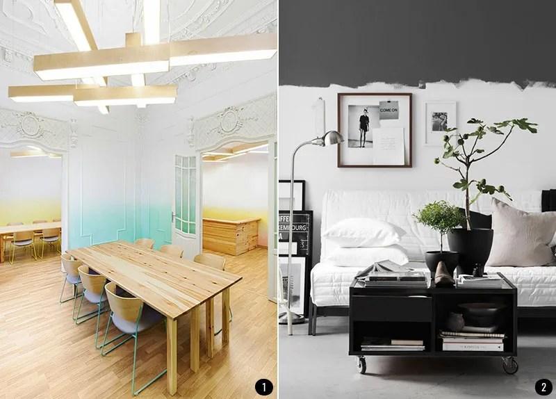 Pintar Salon A Dos Colores