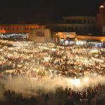 Noche en Djemaa el-fna - Marruecos